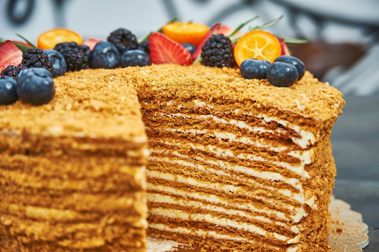 художников, торт медовик по госту рецепт с фото через